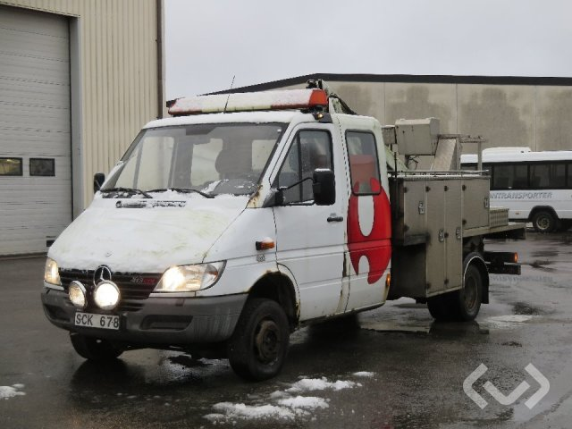 Mercedes Sprinter 413 CDI (129hk) 4x4 Skylift - 01