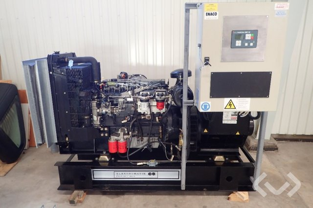 Perkins Generator 100 kVa (80 kw)