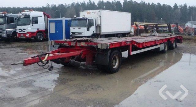 Goldhofer TU-L 3-24/80 3-axlar Släpvagn med dragstång - 09