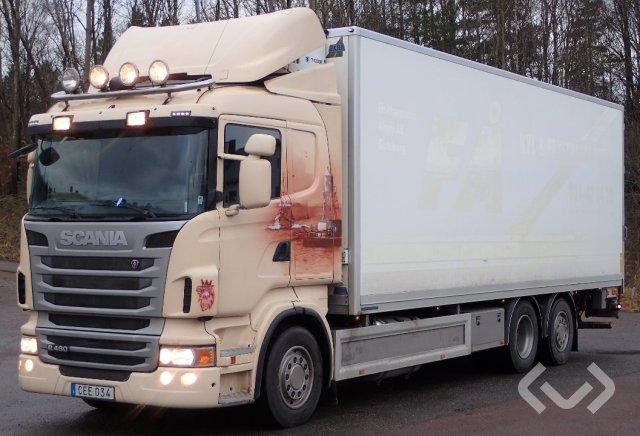 Scania R480LB HNA (Euro 5) (Rep. objekt) 6x2*4 Skåp (kylaggregat+bg-lyft) - 10