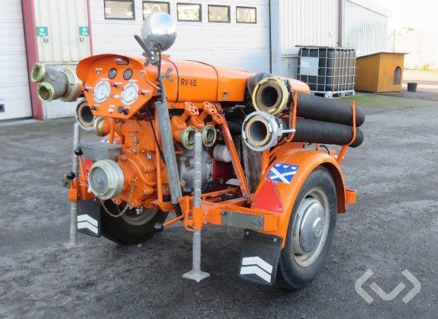 Wilh Rubergs RV4E Motorspruta - 77
