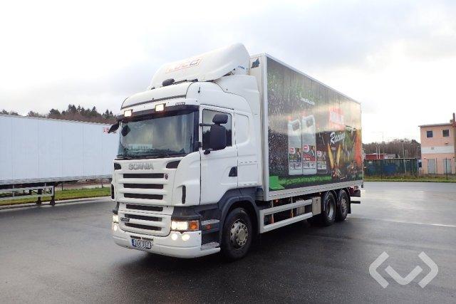 Scania R420LB HNB 6x2*4 Skåp (kylaggregat+bg-lyft) - 09