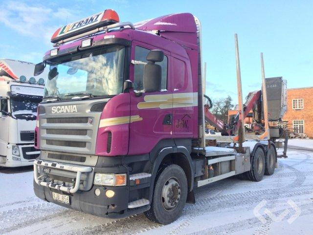 Scania R480LBHHA 6x4 Timmerbil (kran) - 08