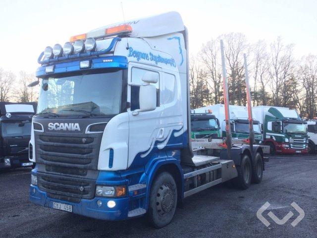 Scania R560LBHNB 6x4 Timmerbil - 12