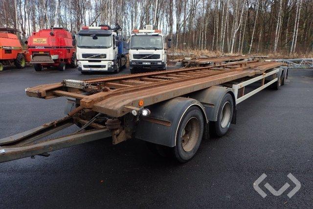 NÄRKO TP 42L R 340 4-axlar Släpvagn med dragstång - 91