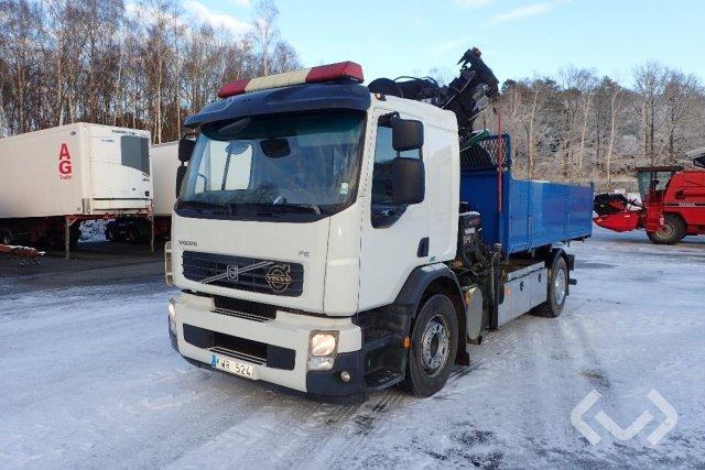 Volvo FES 42R (Euro 5) 4x2 Tippbil (kran) - 10
