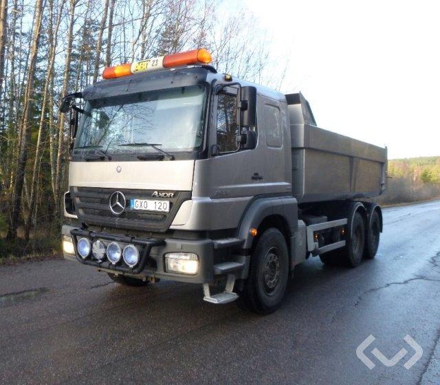 Mercedes 2633 K 6x4 Dumperbil - 08