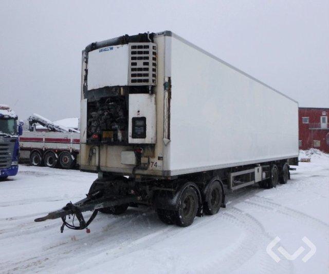 NORFRIG WH4-38-105CF 4-axlar Skåp - Kylaggregat - 07