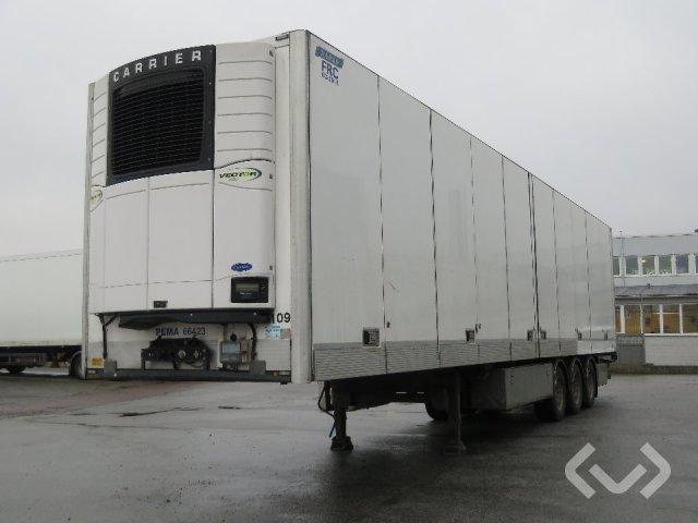 Närko 3HB13R62 3-axlar Påhängsvagn - 12