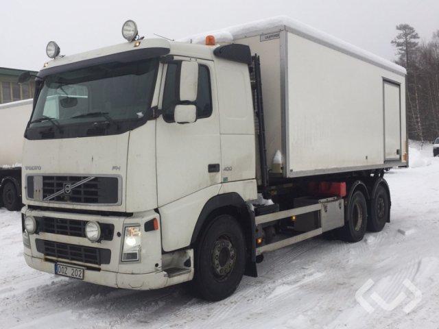 Volvo FH-400 6x2 Lastväxlare (skåp) - 06