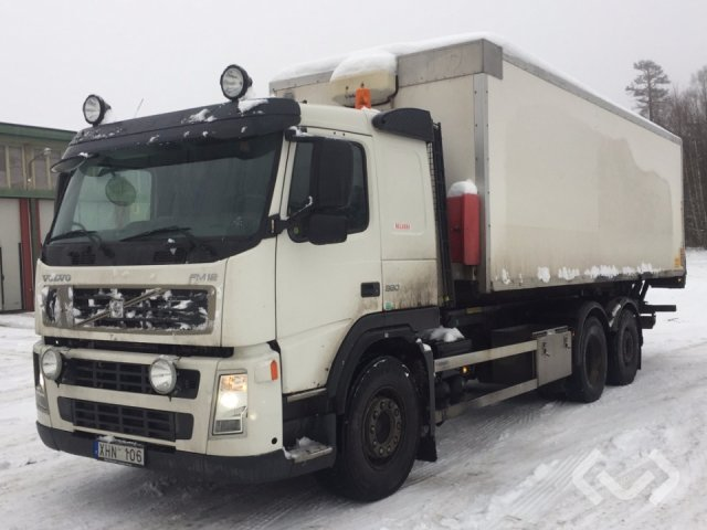 Volvo FM12 6x2 Lastväxlare (skåp) - 06