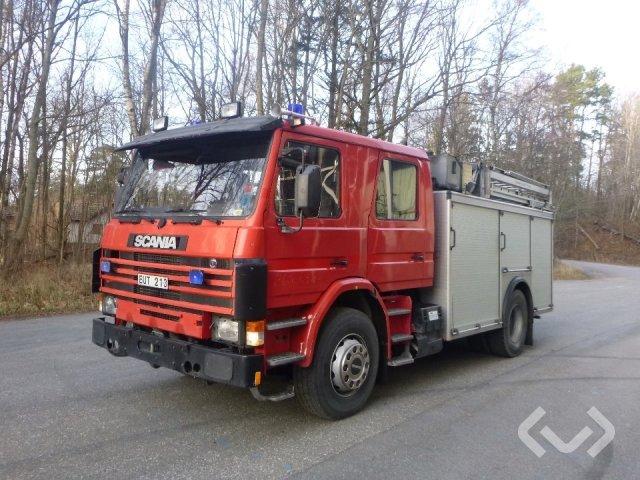 Scania P93MLL 28042B 4x2 Brandfordon (släckbil) - 95