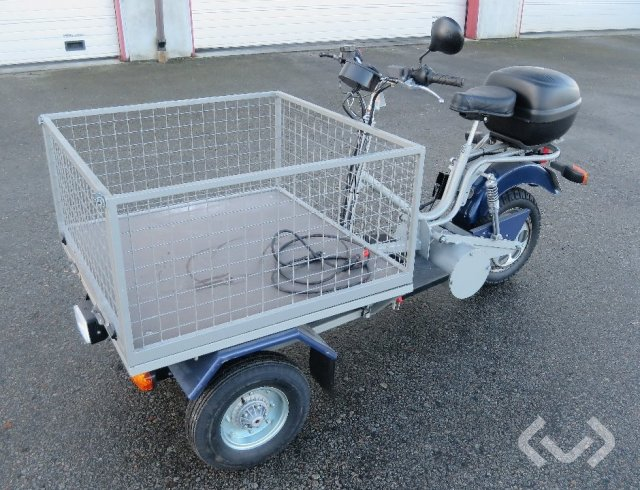 NORSJÖ CARRIER Electric Flakmoped (rep.objekt) - 05