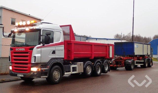 Scania R480LB (No export) + kassettsläp 8x2/4 Kassettekipage - 07