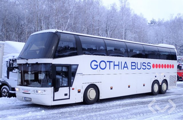 NEOPLAN Spaceliner 3-axlar Turistbuss - 06