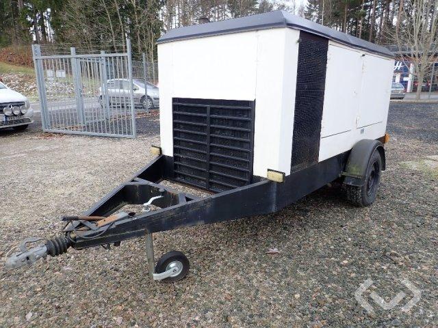 ASEA mobil generator 60 kVa - 85