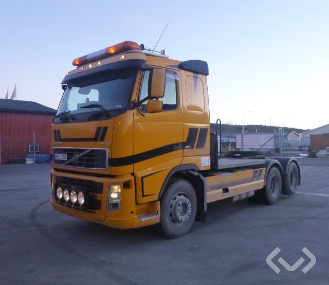 Volvo FH12  (Euro 5) 6x2 Dragbil - 05