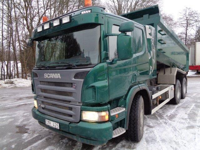 Scania P360LBHSZ 6x4 Dumperbil - 11
