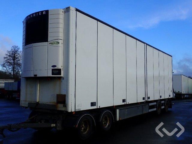VAK V-4-40 4-axlar Släpvagn med dragstång - 11