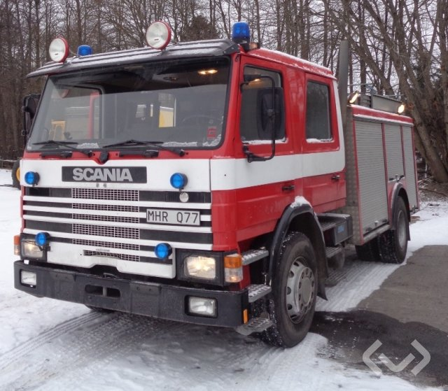 Scania P 112M 42 4x2 Brandfordon - 86