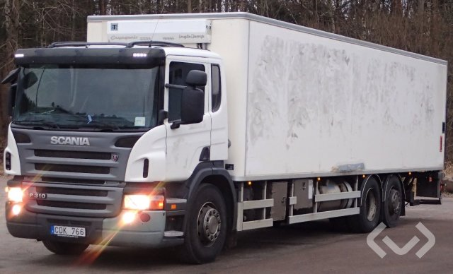 Scania P310DB MNB 6x2*4 Skåp (kylaggregat+bg-lyft) - 08