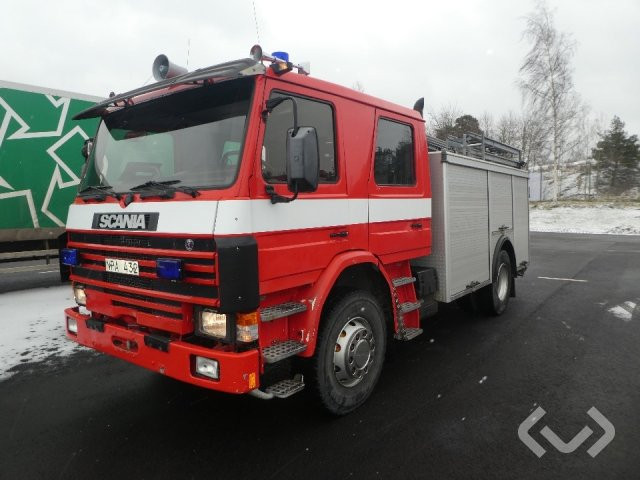Scania P93ML AVKORT 4x2 Brandfordon - 88
