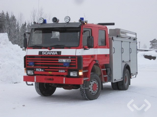 Scania P113HK 38 4x4 Brandfordon (släckbil) - 90