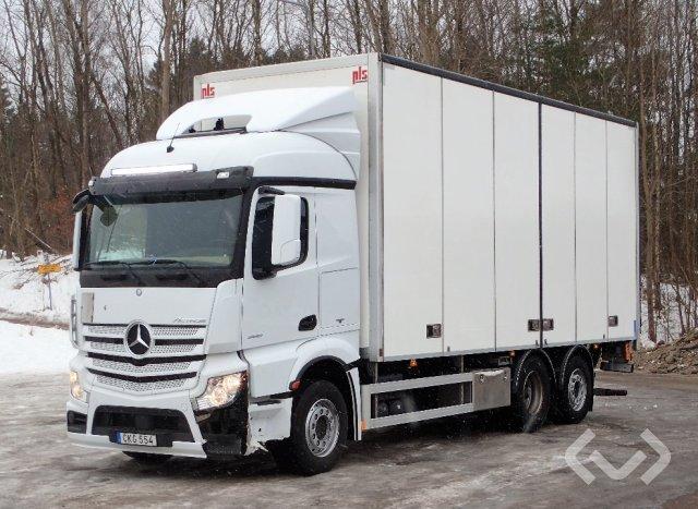 Mercedes ACTROS 2551 (Euro 6) 6x2 Skåp (öppningsbar sida+bg-lyft) - 15