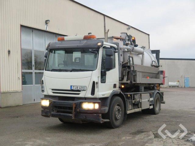 Ginaf (Iveco) GINAF Lastväxlare med flakpåbyggnad (Rep. objekt) 4x2 Lastväxlare - 08
