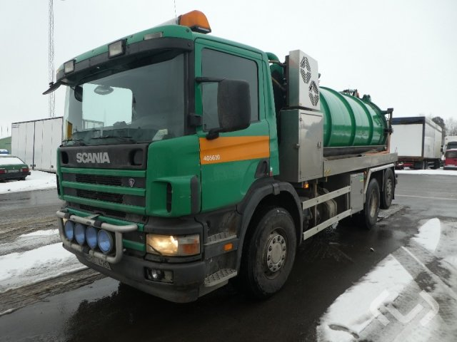 Scania P114 GB NA340 (Export only) 6x2*4 Slam-sugbil - 05