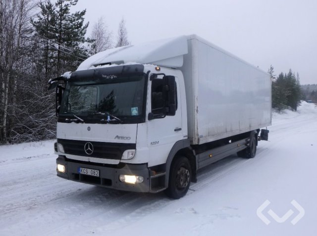 Mercedes 1224 L 4x2 Skåp (bg-lyft) - 10