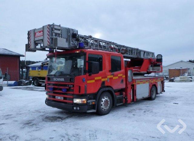 Scania P94 DB LB310 4x2 Brandfordon (stegbil) - 00