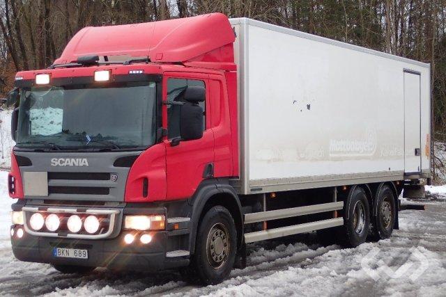 Scania P280DB MNA 6x2*4 Skåp (bg-lyft) - 09