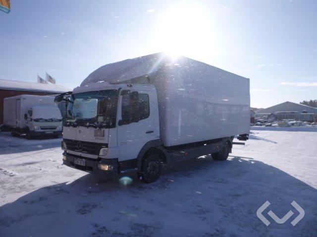 MERCEDES-BENZ ATEGO 816  (No export) 4x2 Skåp (bg-lyft) - 11