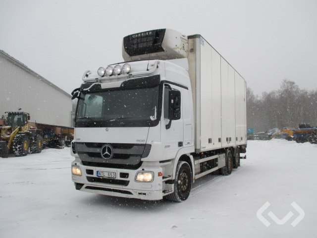 Mercedes 2551 L (Euro 5) 6x2 Skåp (kylaggregat+bg-lyft) - 11