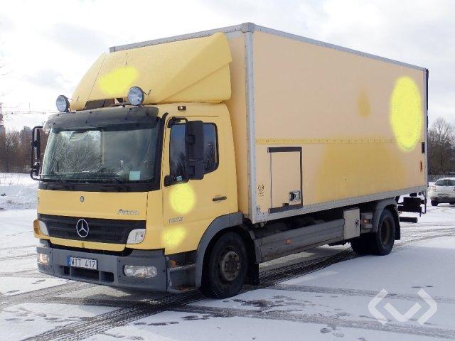 Mercedes 1523L  (Rep. objekt) (Export only) 4x2 Skåp (bg-lyft) - 05