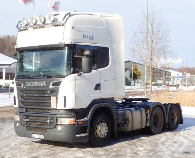 Scania R500LA MNA 6x2 Dragbil - 12