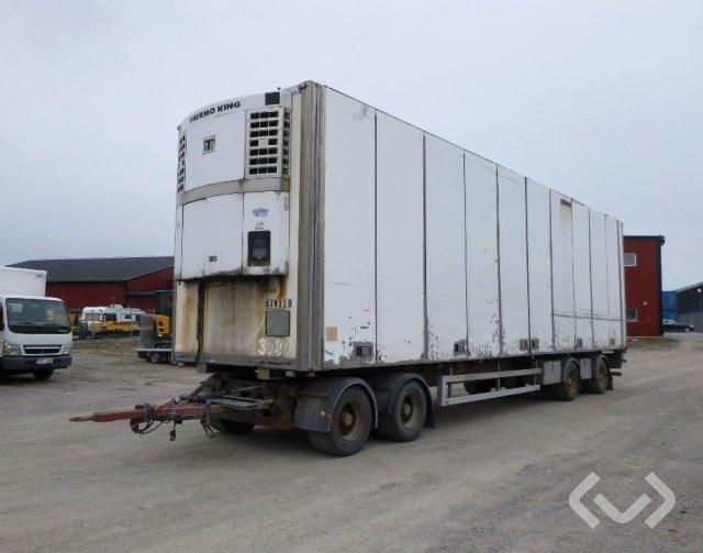 Sandströms SV22TLE38F0 (Rep. objekt) 4-axlar Släpvagn med dragstång - 02