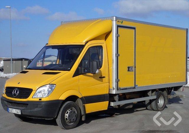 Mercedes Sprinter 516 CDI (163hk) 4x2 Skåp (bg-lyft) - 11