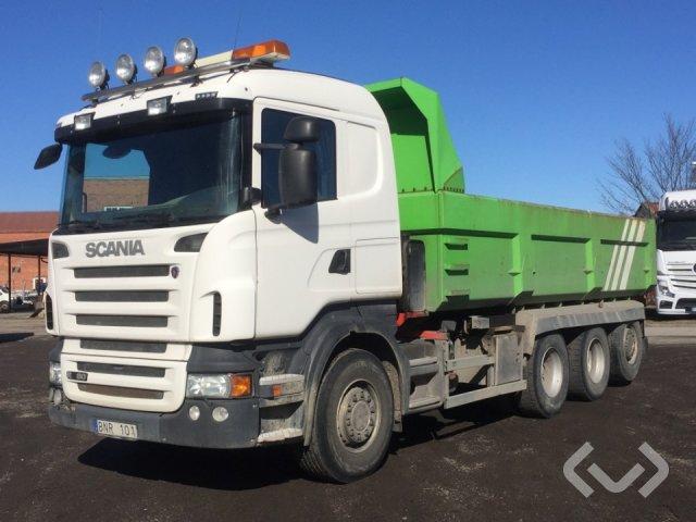 Scania R480LBHHA 8x4*4 Dumperbil - 09