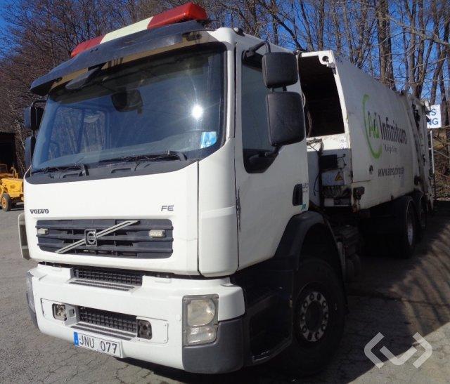 Volvo FES-280 R L1H1 6x2 Sopbil (baklastare) - 09