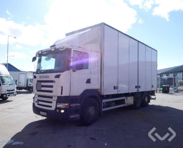 Scania R420 LB MNA 6x2*4 Skåp (öppningsbar sida+bg-lyft) - 07