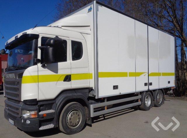 Scania R440LBMNB 6x2*4 Skåp (öppningsbar sida+bg-lyft) - 14