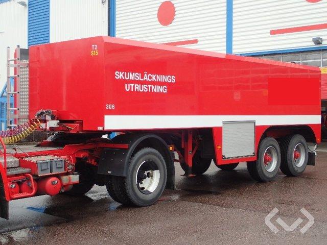 Contar B1218S 2-axlar Tanktrailer Brandfordon - 96
