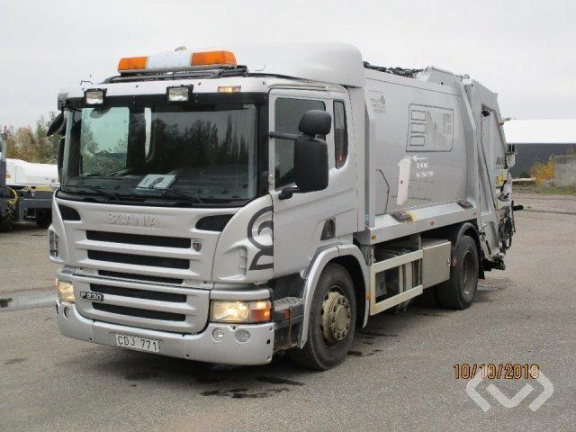 Scania P230DB MNB 4x2 Sopbil (baklastare) - 11