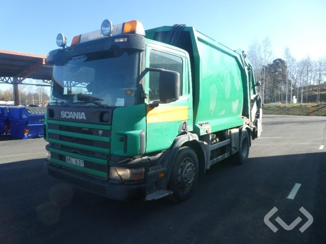 Scania P94DB NB230 4x2 Sopbil (baklastare) - 02