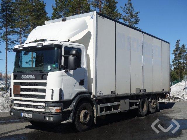 Scania R114LB  4NB380 6x2 Skåp (öppningsbar sida+bg-lyft) - 02