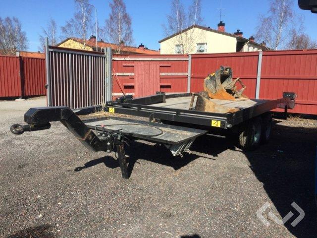 Mustang / Engcon ML90 Maskintrailer, skopa, tjälkrok & asfaltsskärare (S45) - 16