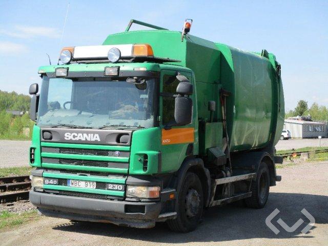 Scania P94DB NA230 4x2 Sopbil (sidlastare) - 04
