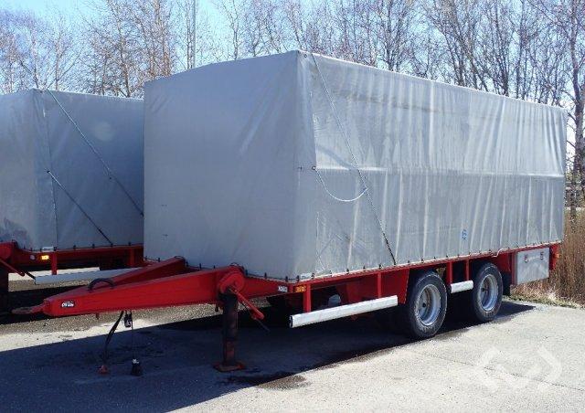 VM 20 2 KL S 2-axlar Kapellsläp - 96